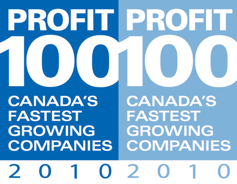 Profit100 - Canada's fastest growing companies 2010