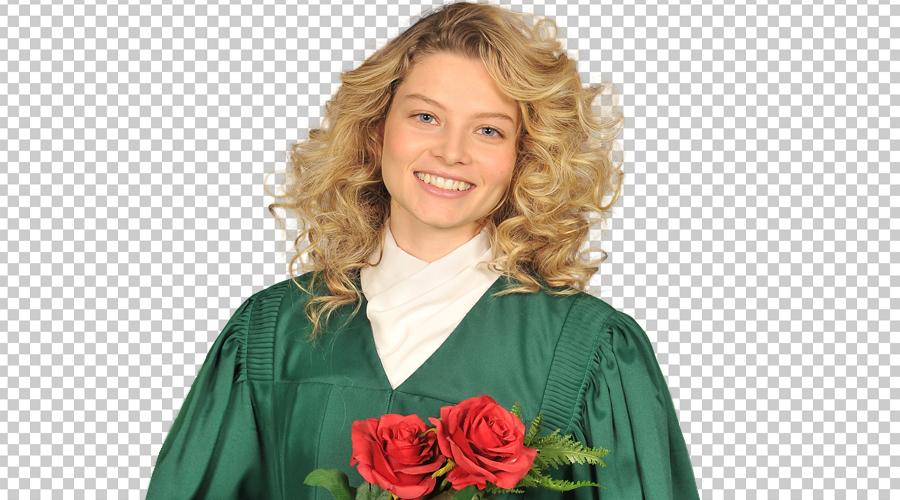 Graduation photo PNG