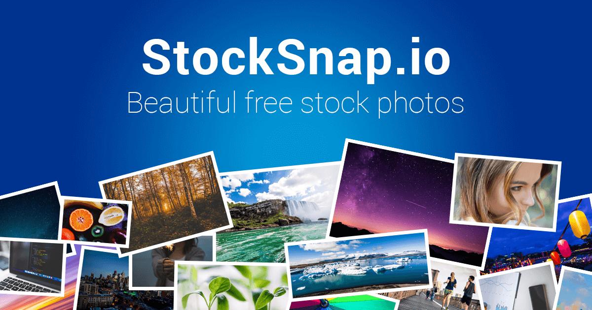 StockSnap.io Stock Photos website preview