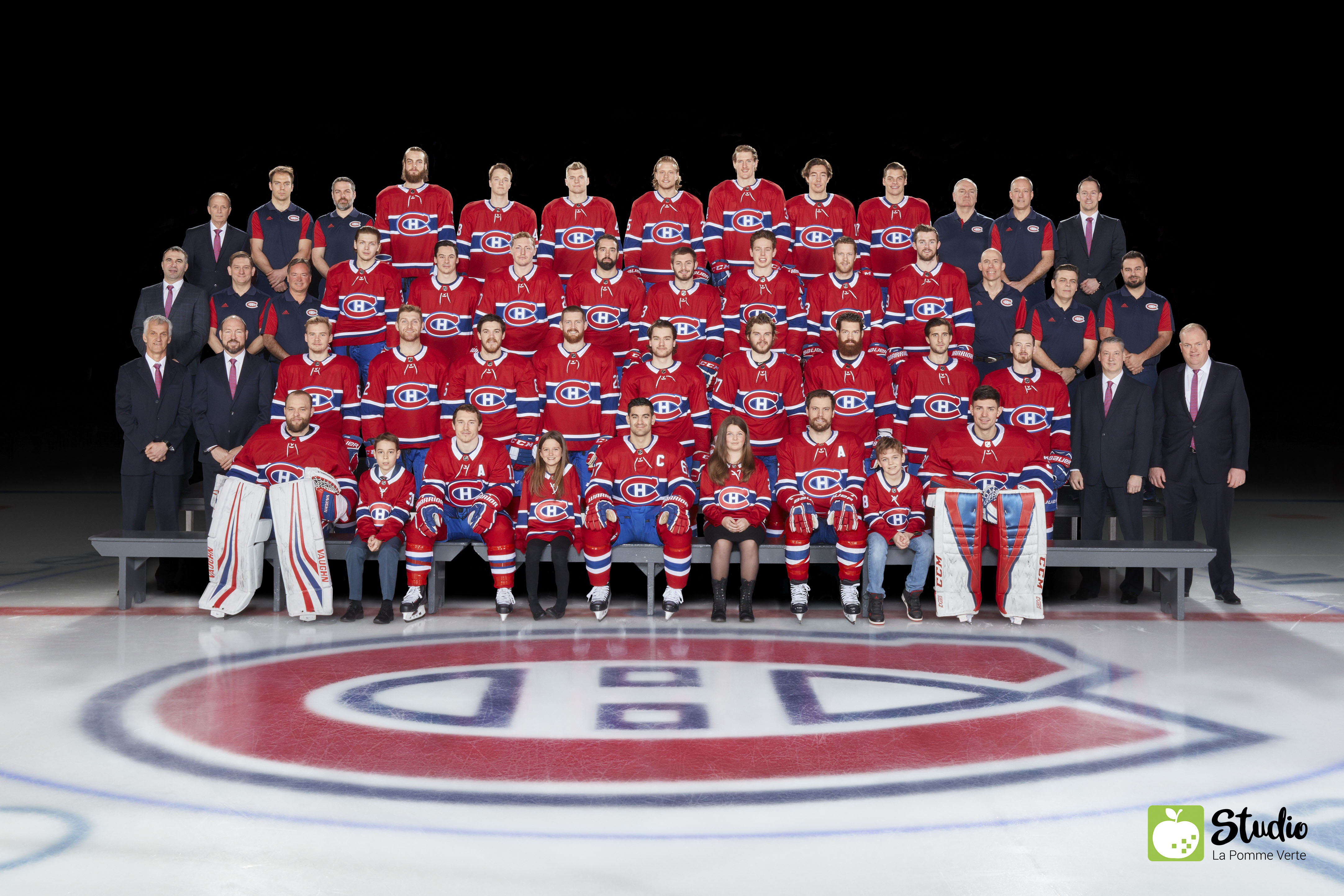 Montreal Canadiens hockey team official photo