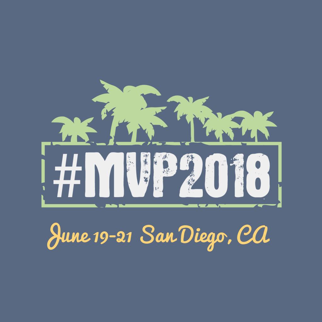 MVP2018 San Diego, CA