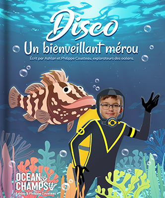 Ocean Champs eBook Cover - Disco the Friendly Grouper
