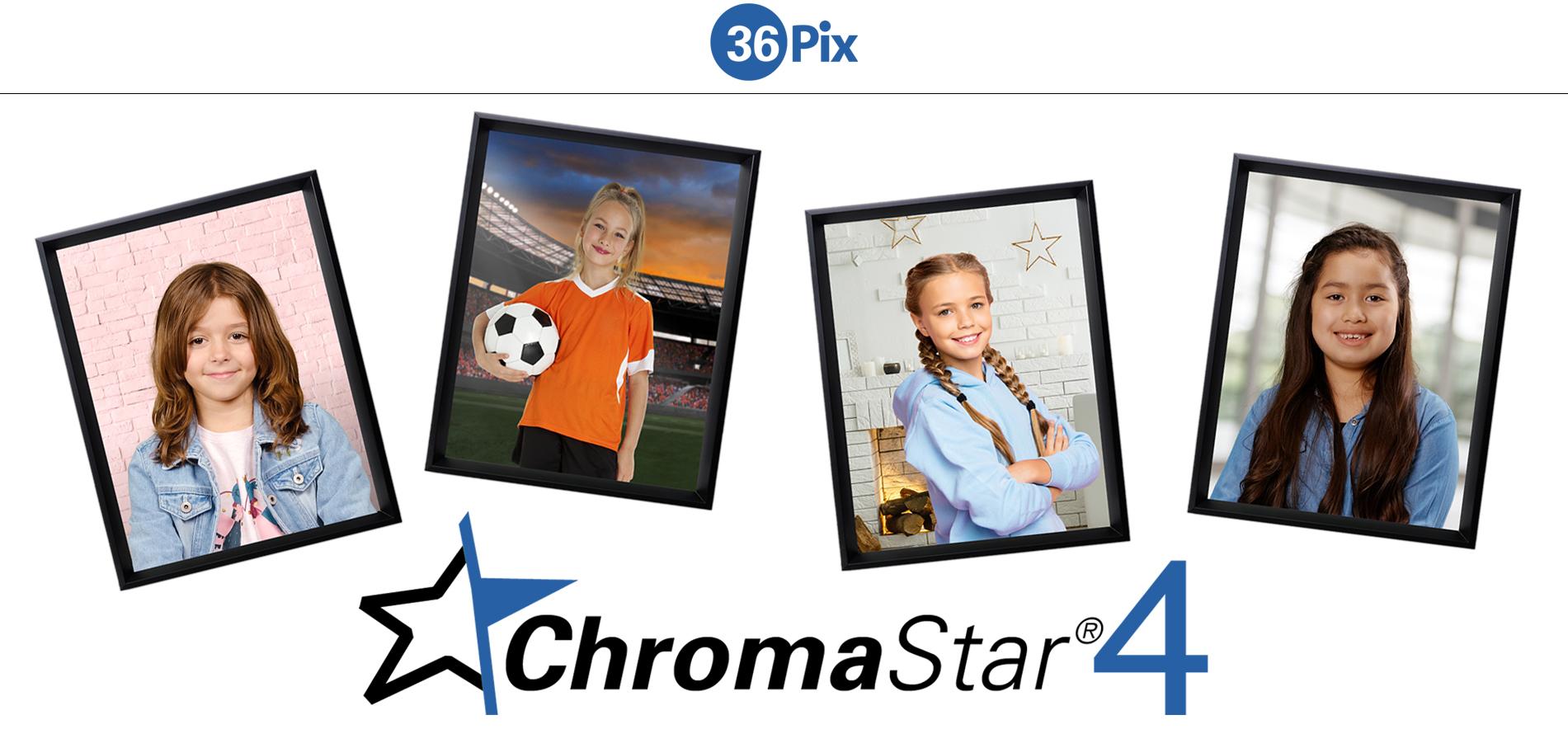 ChromaStar4 Images in frames
